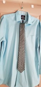 Stafford dress shirt with matching tie
